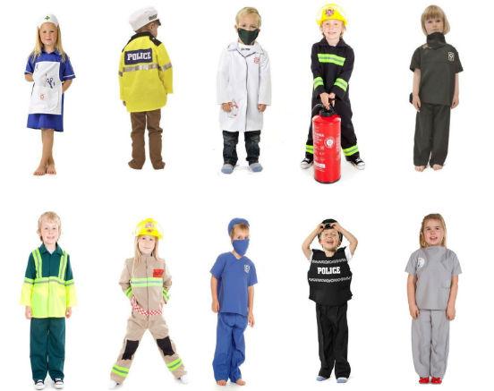 картинки рабочей одежды разных профессии